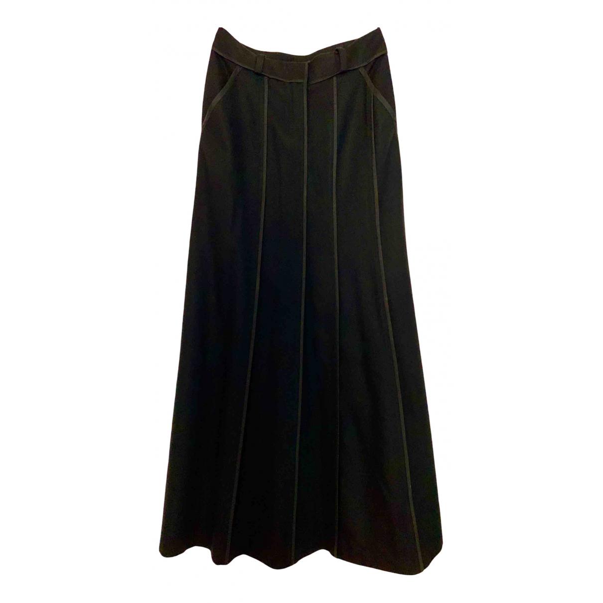 Dkny - Jupe   pour femme en laine - noir