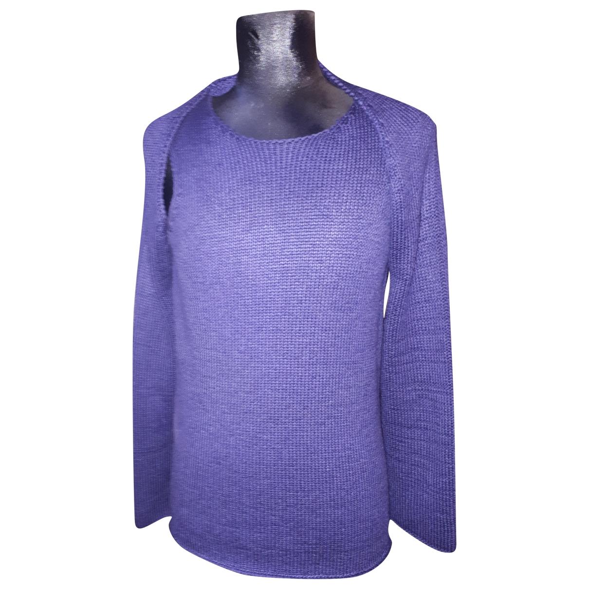 Hermes \N Pullover in  Lila Seide