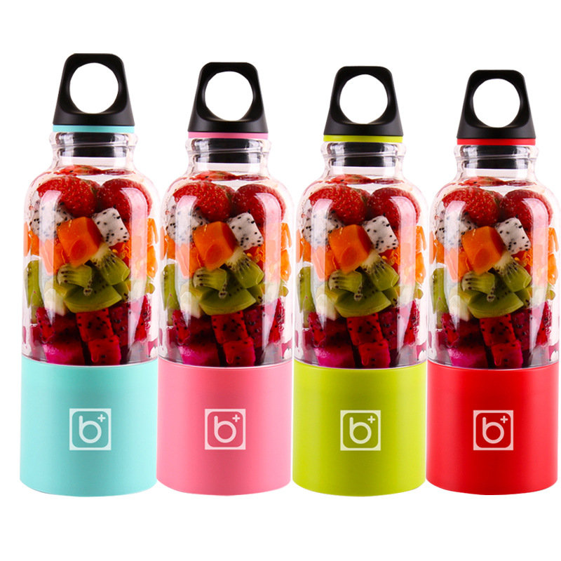 500ml Portable Juicer Cup USB Rechargeable Electric Automatic Bingo Vegetables Fruit Juice Maker Cup