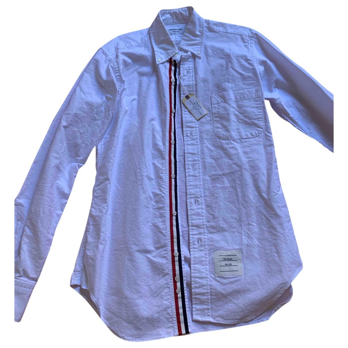 Thom Browne \N Hemden in  Weiss Baumwolle