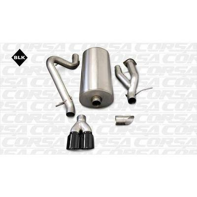 Corsa Cat-Back Exhaust - 14216BLK