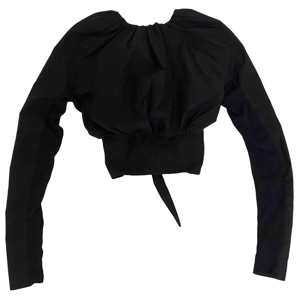 Rick Owens - Top   pour femme en coton - noir