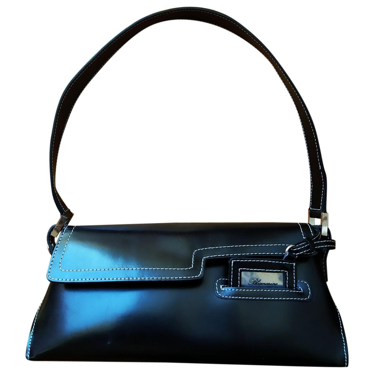 Blumarine \N Black Leather handbag for Women \N