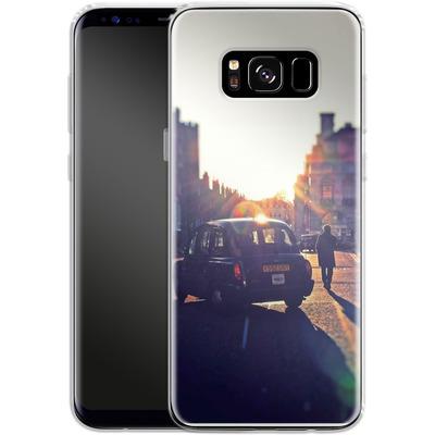 Samsung Galaxy S8 Silikon Handyhuelle - Those Simple Days von Ronya Galka