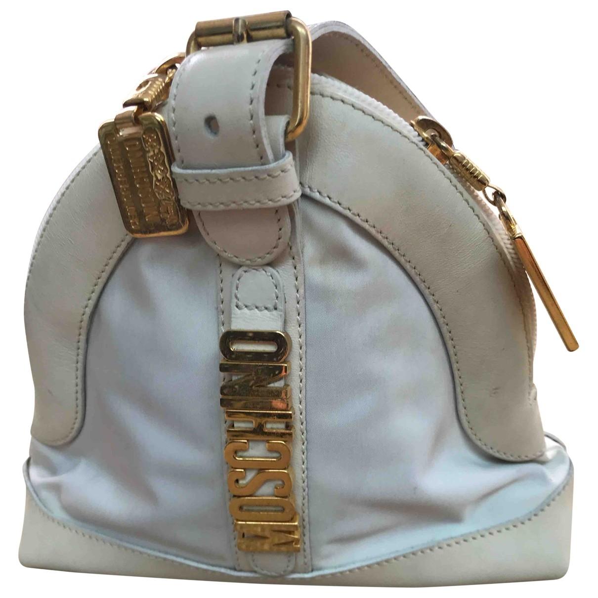 Moschino \N Beige Leather handbag for Women \N