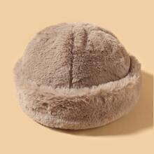 Sombrero de propietario mullido simple