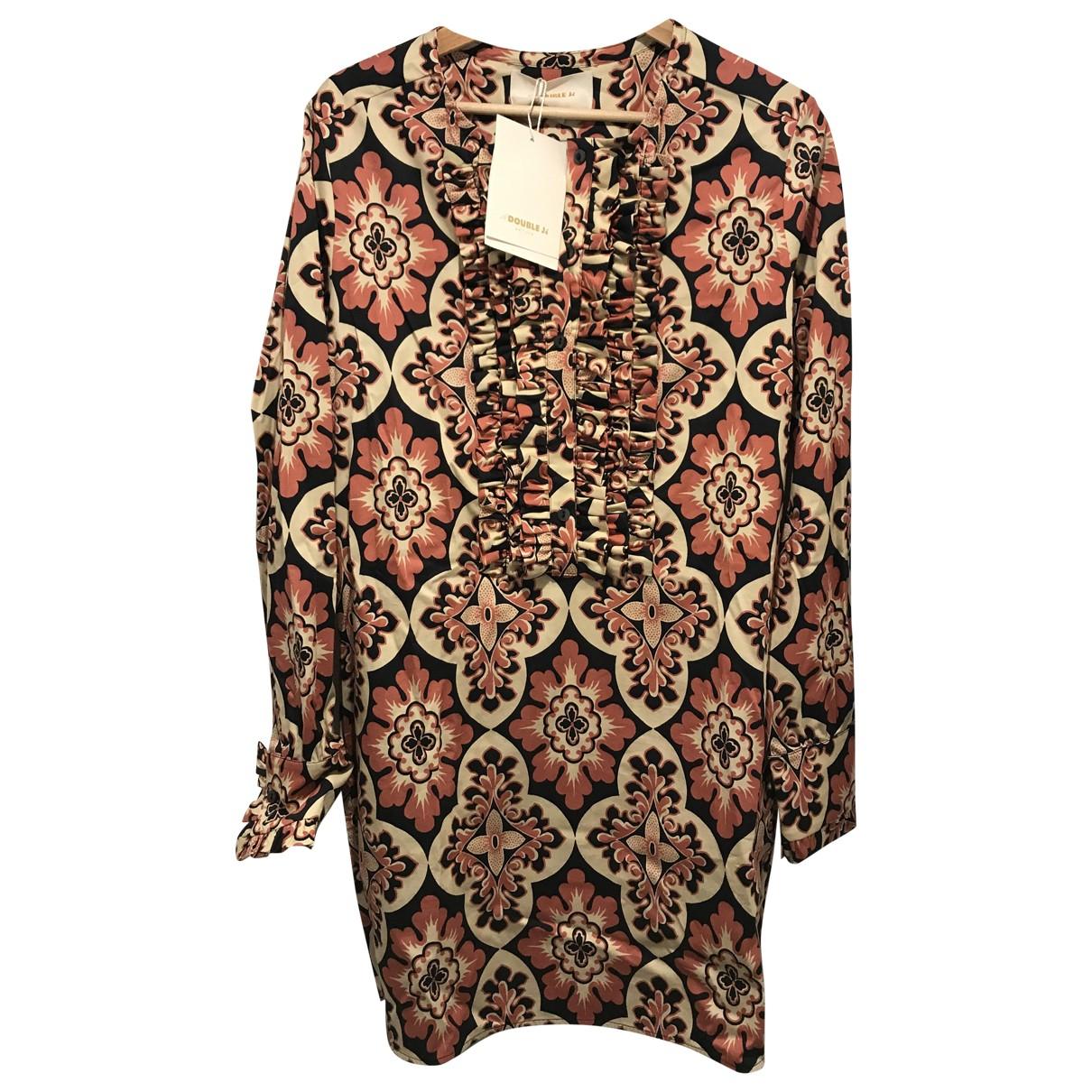 La Double J \N Kleid in  Bunt Baumwolle - Elasthan