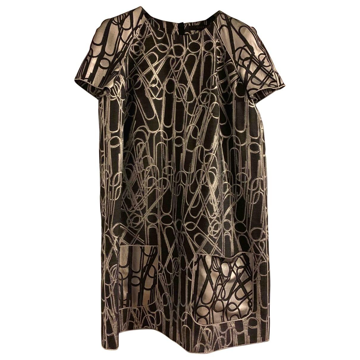 Giles \N Kleid in  Silber Wolle