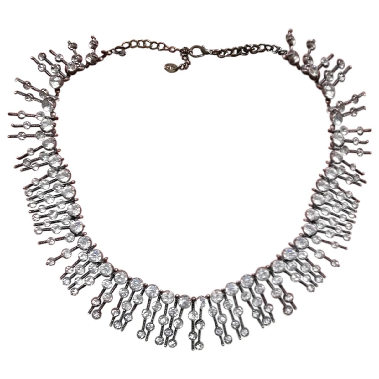 Zara - Collier   pour femme en acier - dore