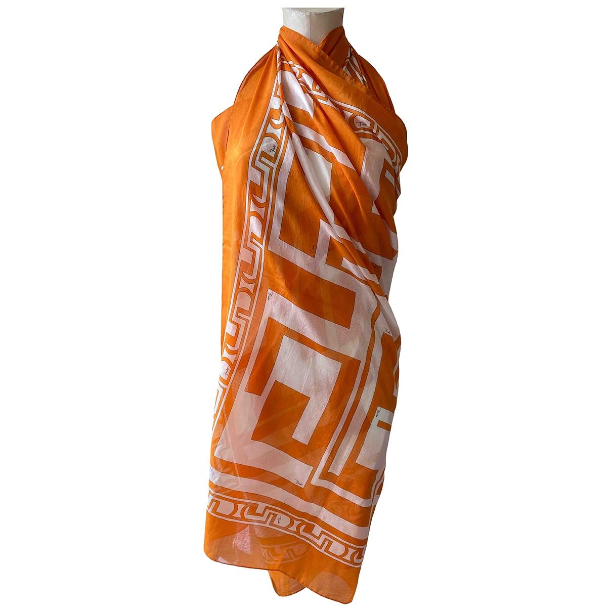 Bañadore en Algodon Naranja Emilio Pucci