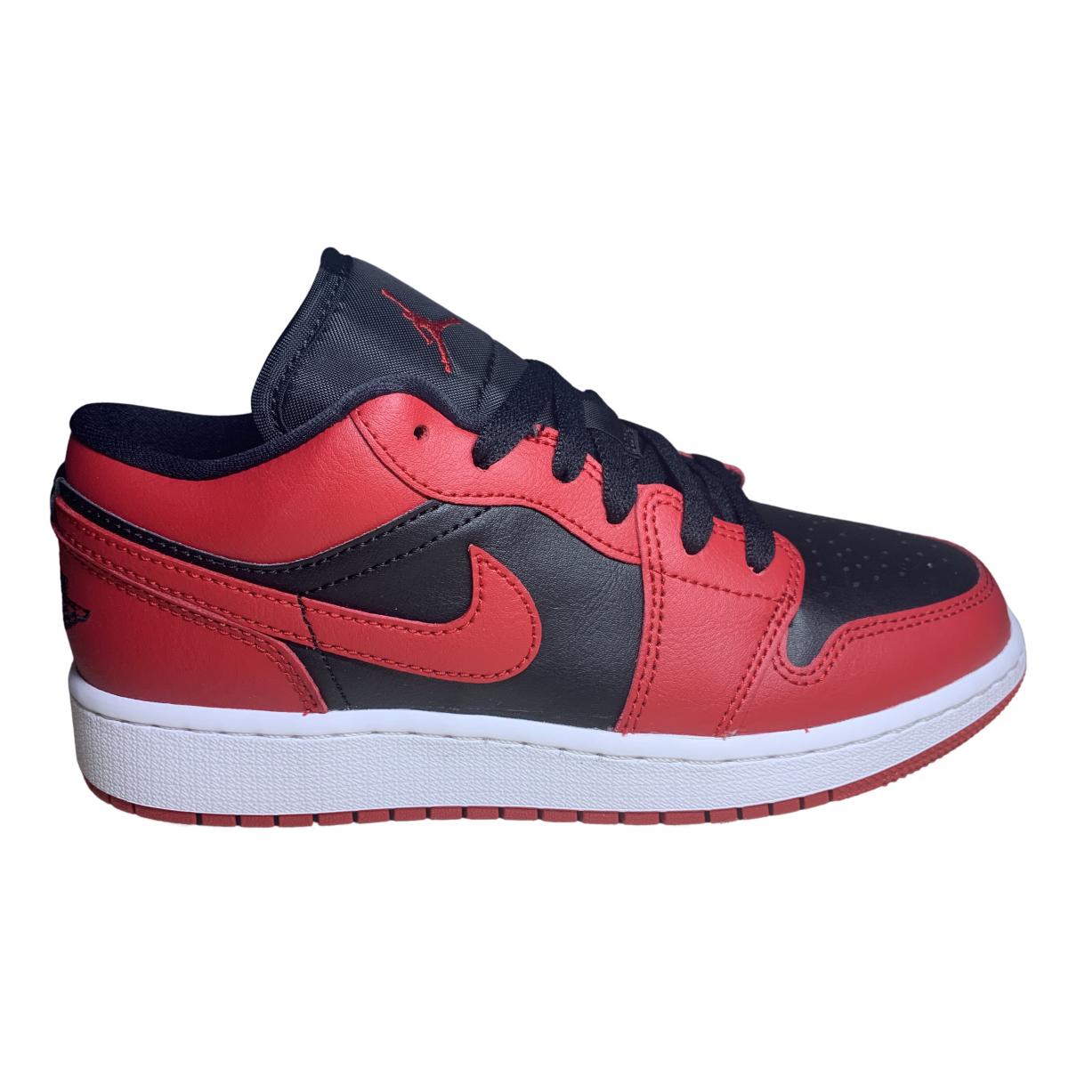 Jordan - Baskets Air Jordan 1  pour femme - rouge