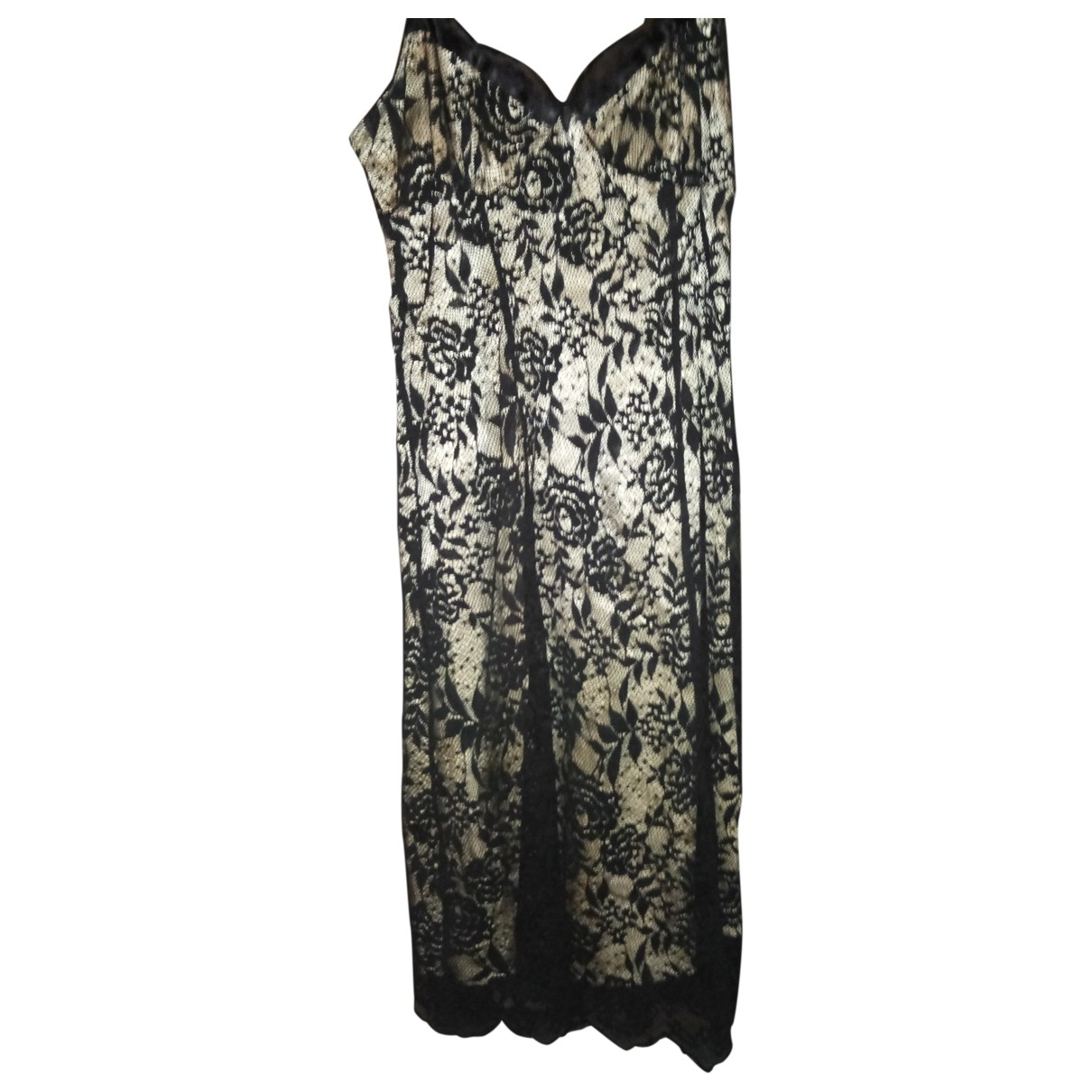 Non Signé / Unsigned \N Black Lace dress for Women 8 UK