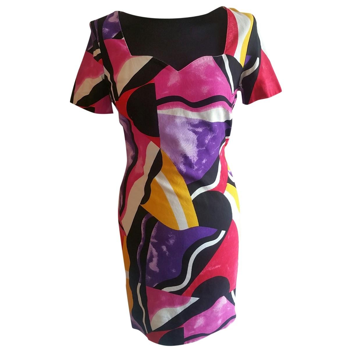 Byblos - Robe   pour femme en coton - multicolore