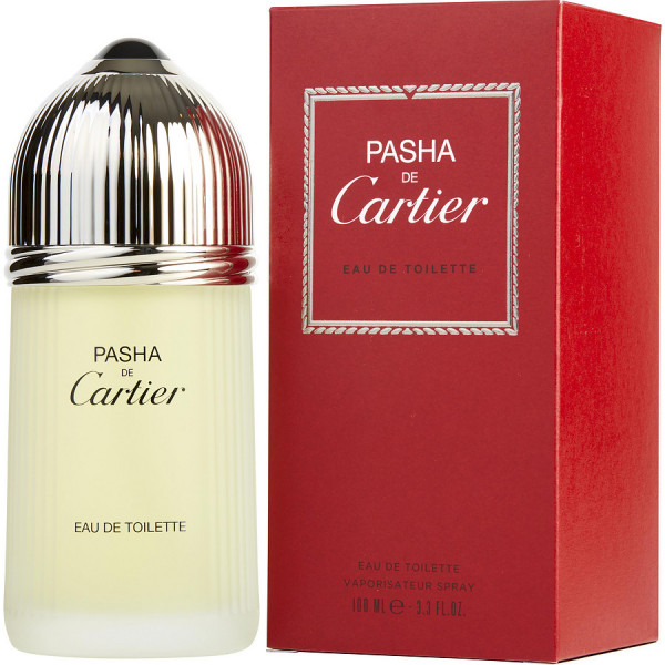 Cartier - Pasha : Eau de Toilette Spray 3.4 Oz / 100 ml
