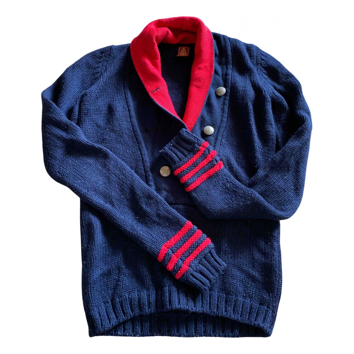 Dondup N Blue Wool Knitwear for Women M International