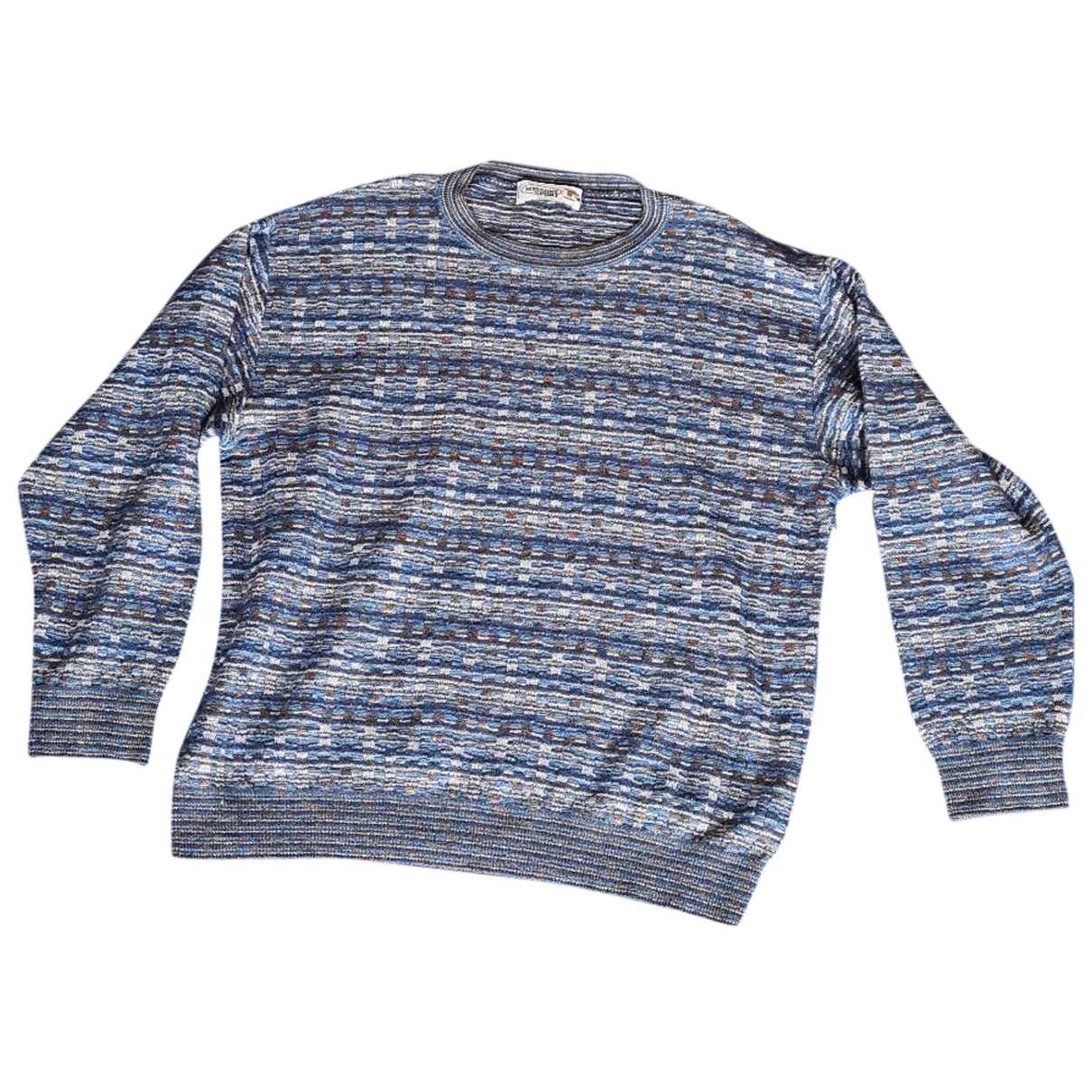Missoni N Blue Wool Knitwear & Sweatshirts for Men 52 IT