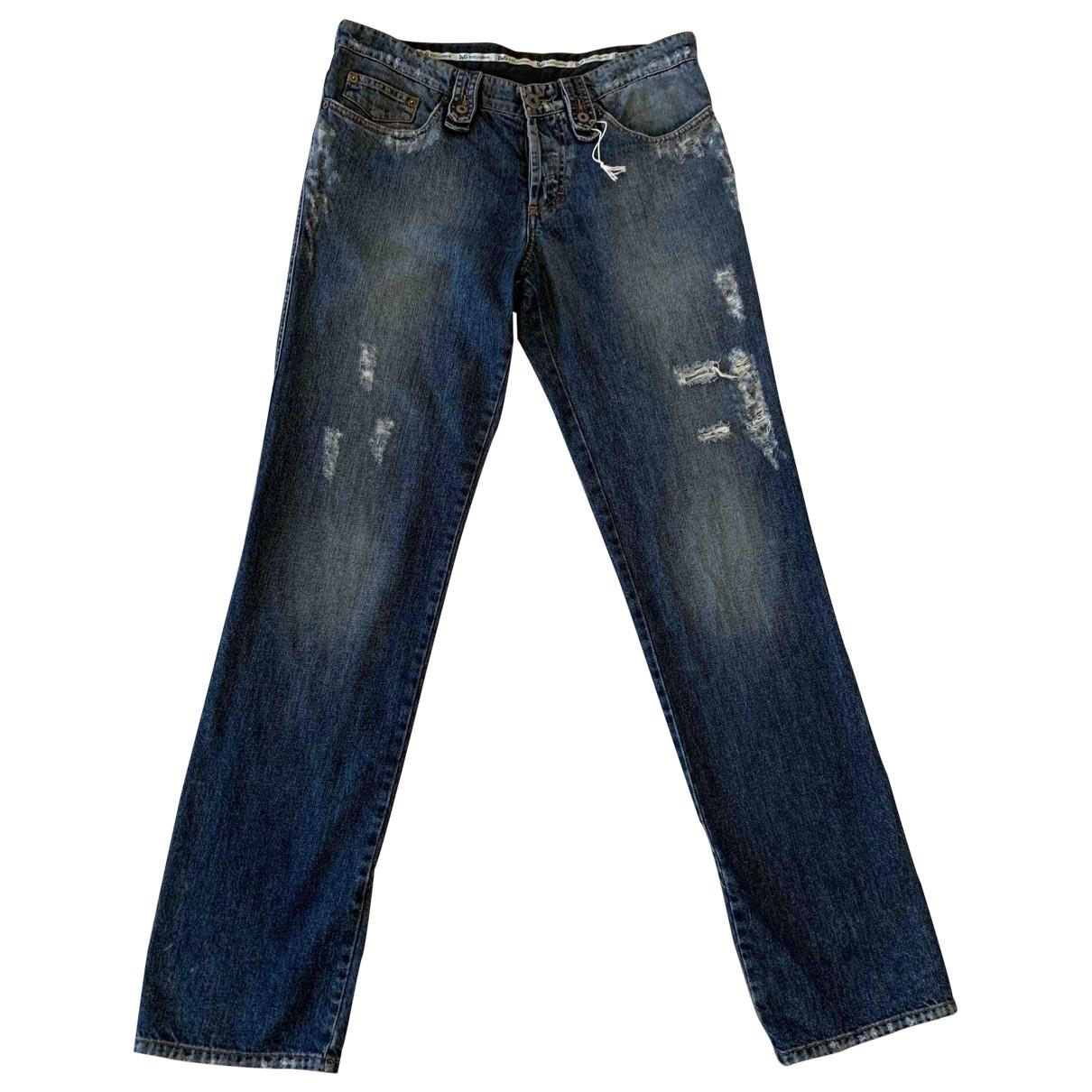 D&g - Jean   pour homme en coton - bleu