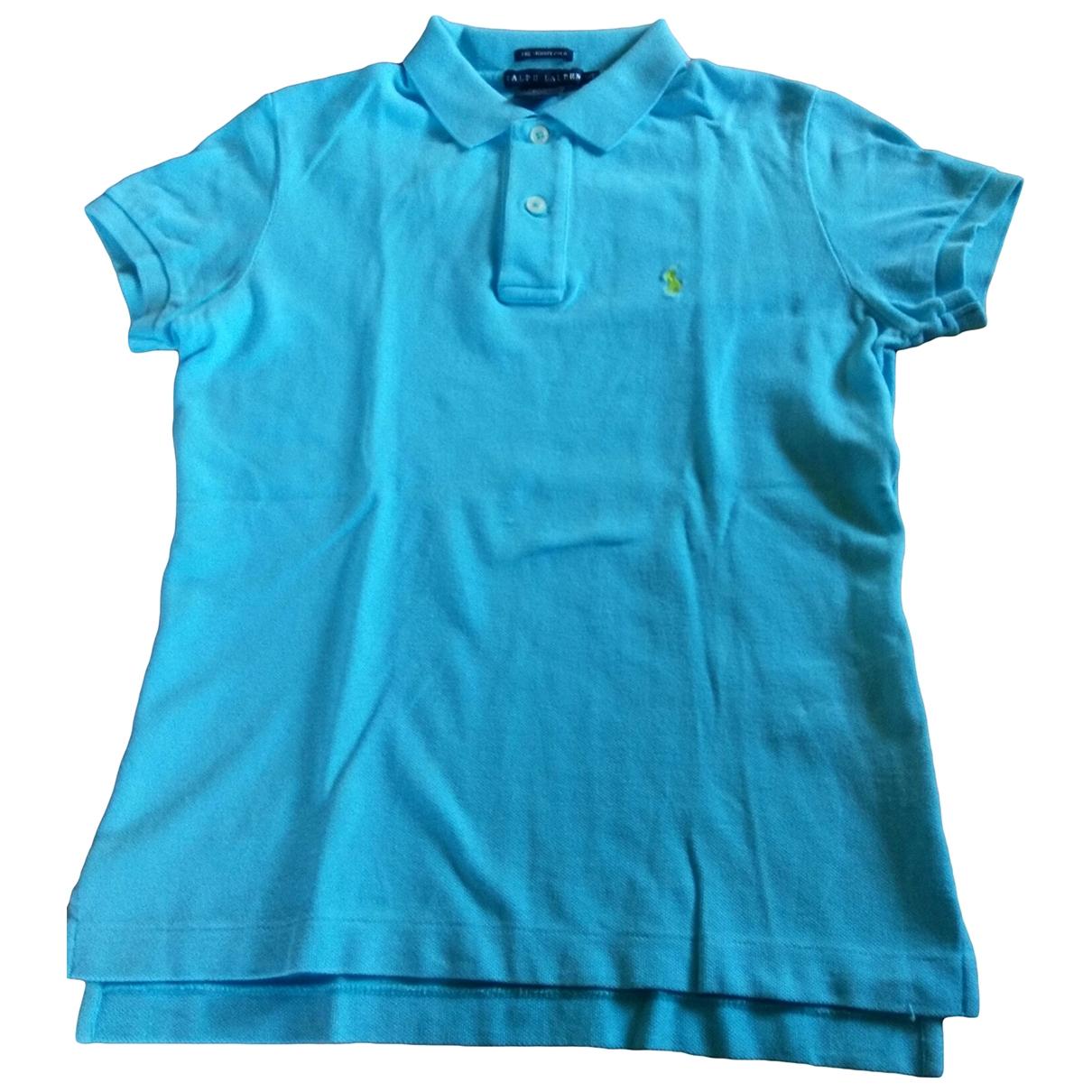 Ralph Lauren - Polos   pour homme en coton - bleu