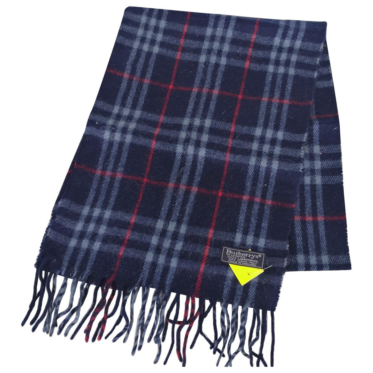 Burberry - Foulard   pour femme en laine