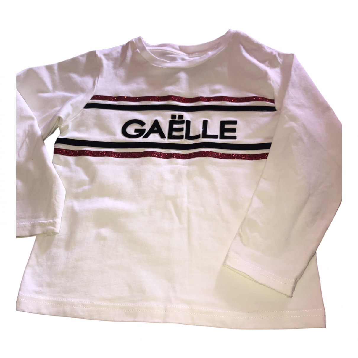 Gaelle Paris \N White Cotton  top for Kids 4 years - up to 102cm FR