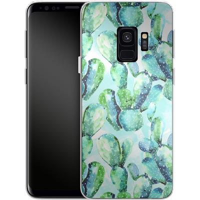 Samsung Galaxy S9 Silikon Handyhuelle - Cactus Tropicana von Mark Ashkenazi