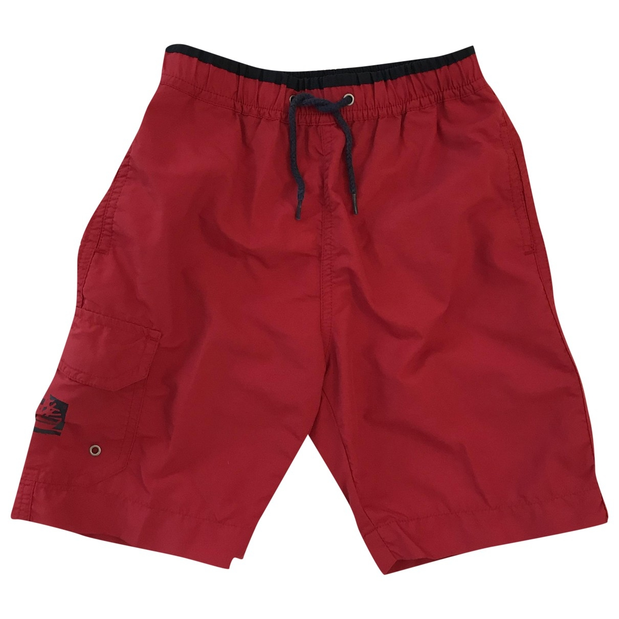 Timberland \N Shorts in  Rot Polyester