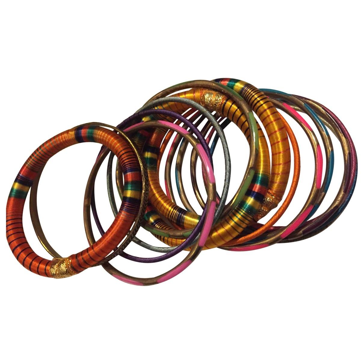 - Bracelet Motifs Ethniques pour femme en metal - multicolore