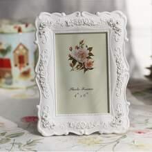 Fotorahmen mit Vintage Blumen