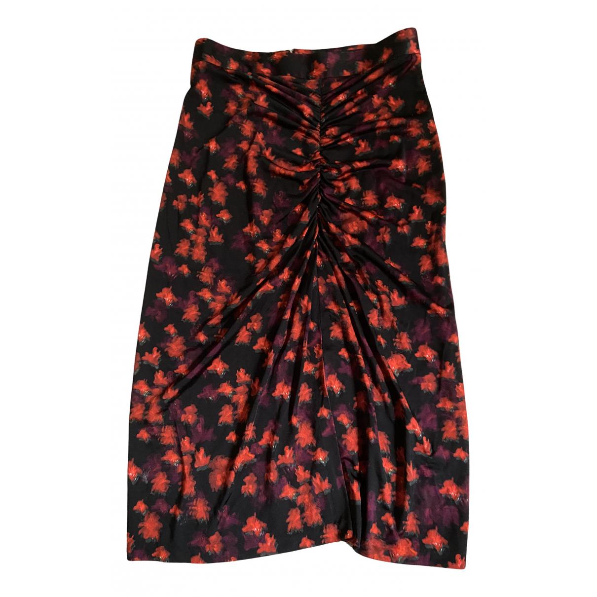 Givenchy - Jupe   pour femme en coton - bordeaux