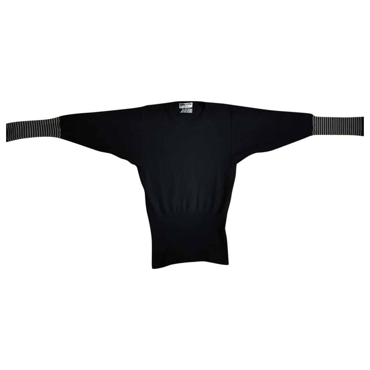 Sonia Rykiel \N Black Wool Knitwear for Women 38 FR