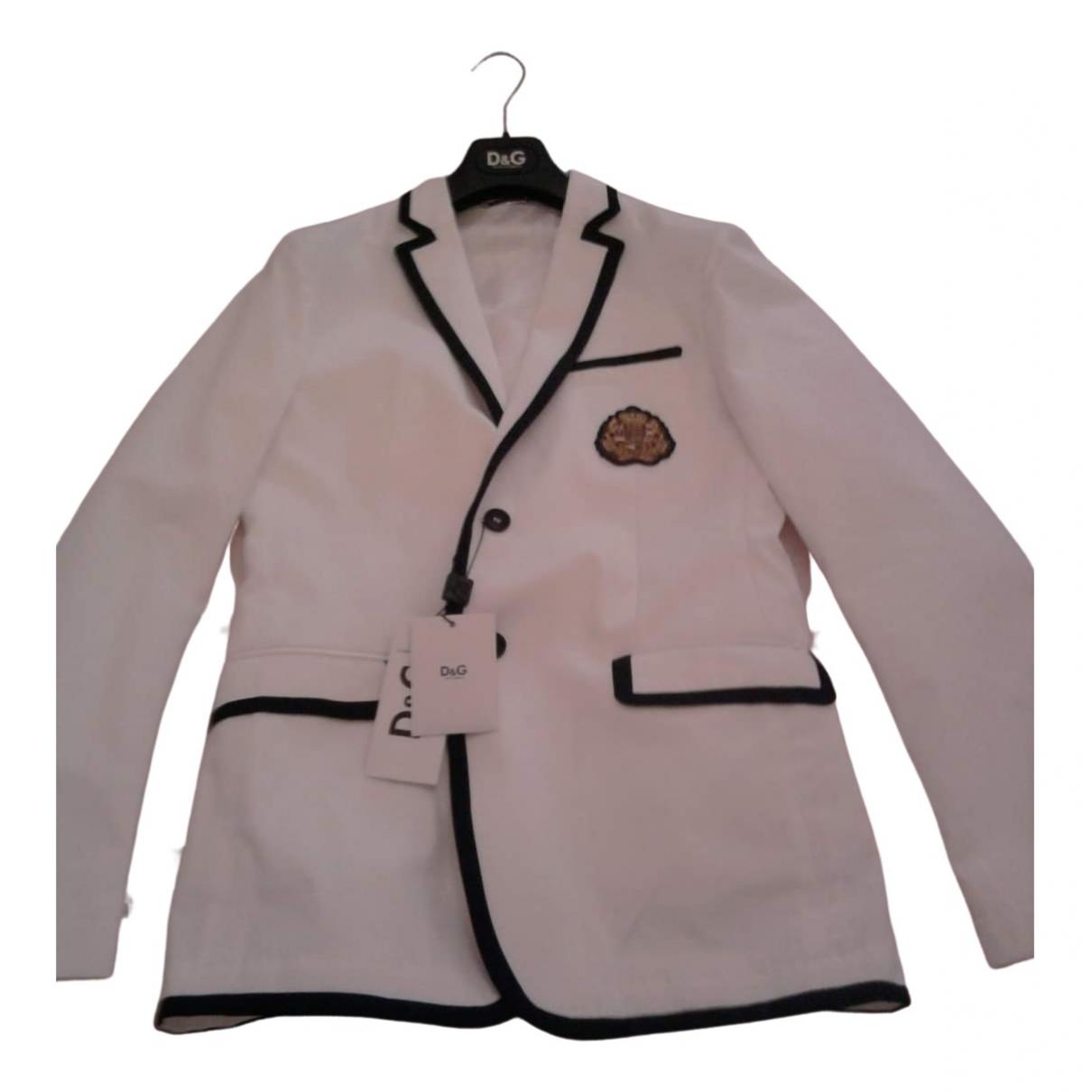 D&g - Vestes.Blousons   pour homme en coton - blanc