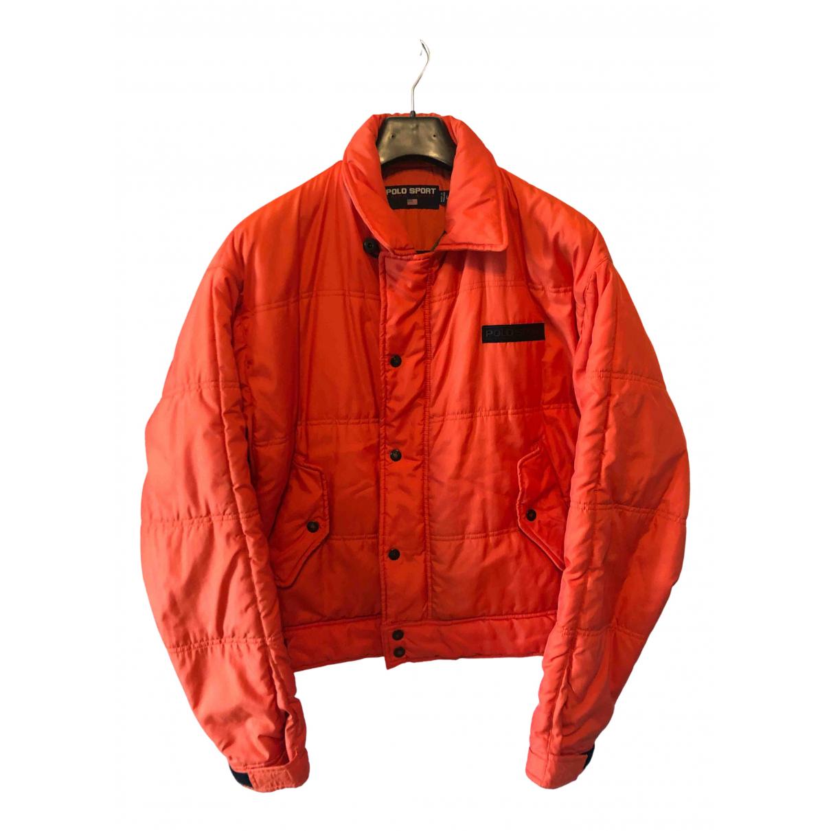 Polo Ralph Lauren \N Jacke in  Orange Synthetik