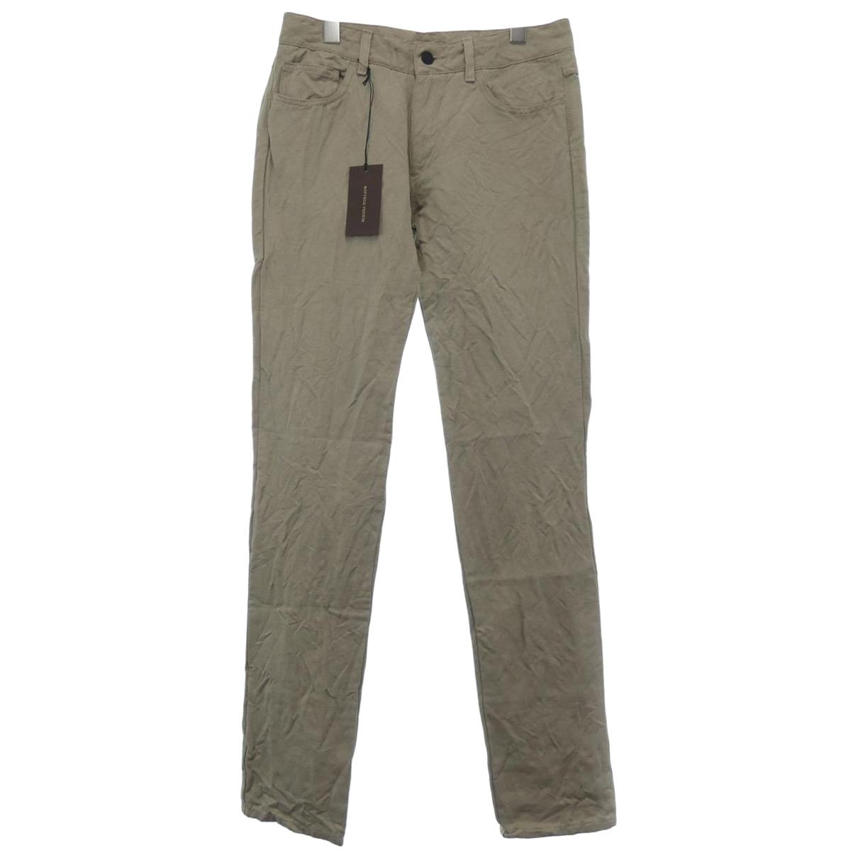 Pantalon pitillo de Lona Bottega Veneta