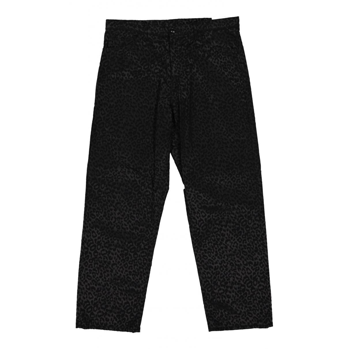 Comme Des Garcons N Black Cotton Trousers for Women L International