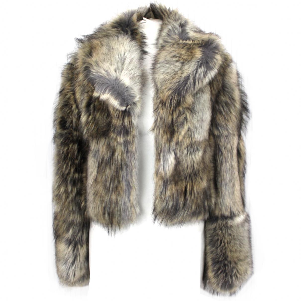 Stella Mccartney \N Brown Faux fur jacket for Women 40 IT