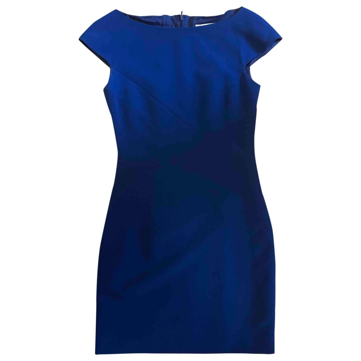 Versace \N Kleid in  Blau Polyester