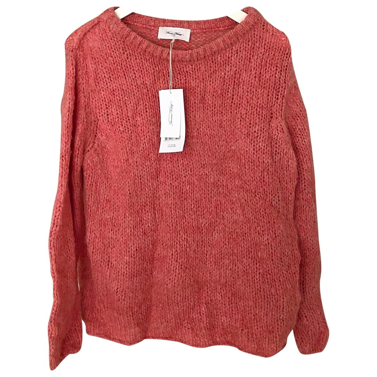 American Vintage \N Pullover in  Rosa Wolle