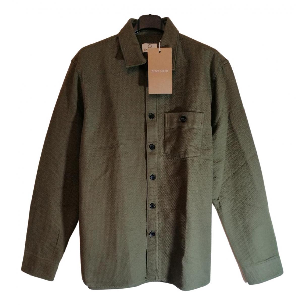 Bonnegueule \N Hemden in  Khaki Baumwolle