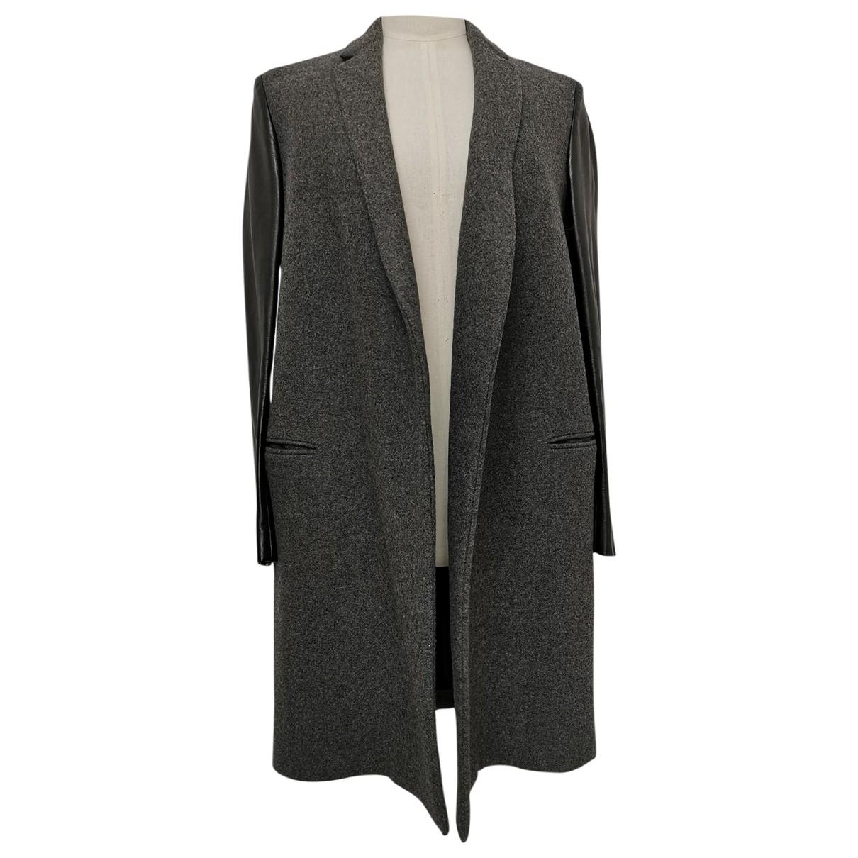 Celine - Manteau   pour femme en laine - gris