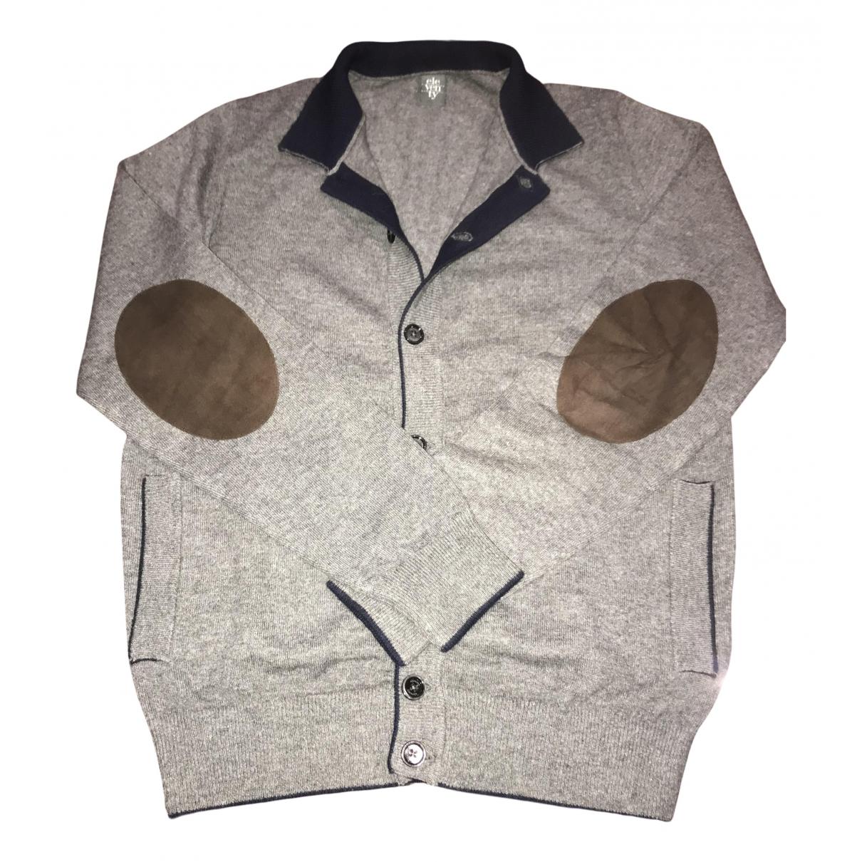 Eleventy \N Pullover.Westen.Sweatshirts  in  Grau Kaschmir