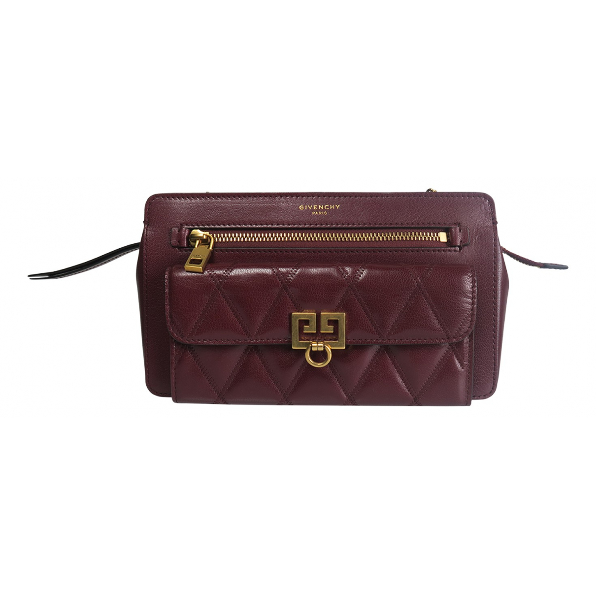 Givenchy N Purple Leather Clutch bag for Women N