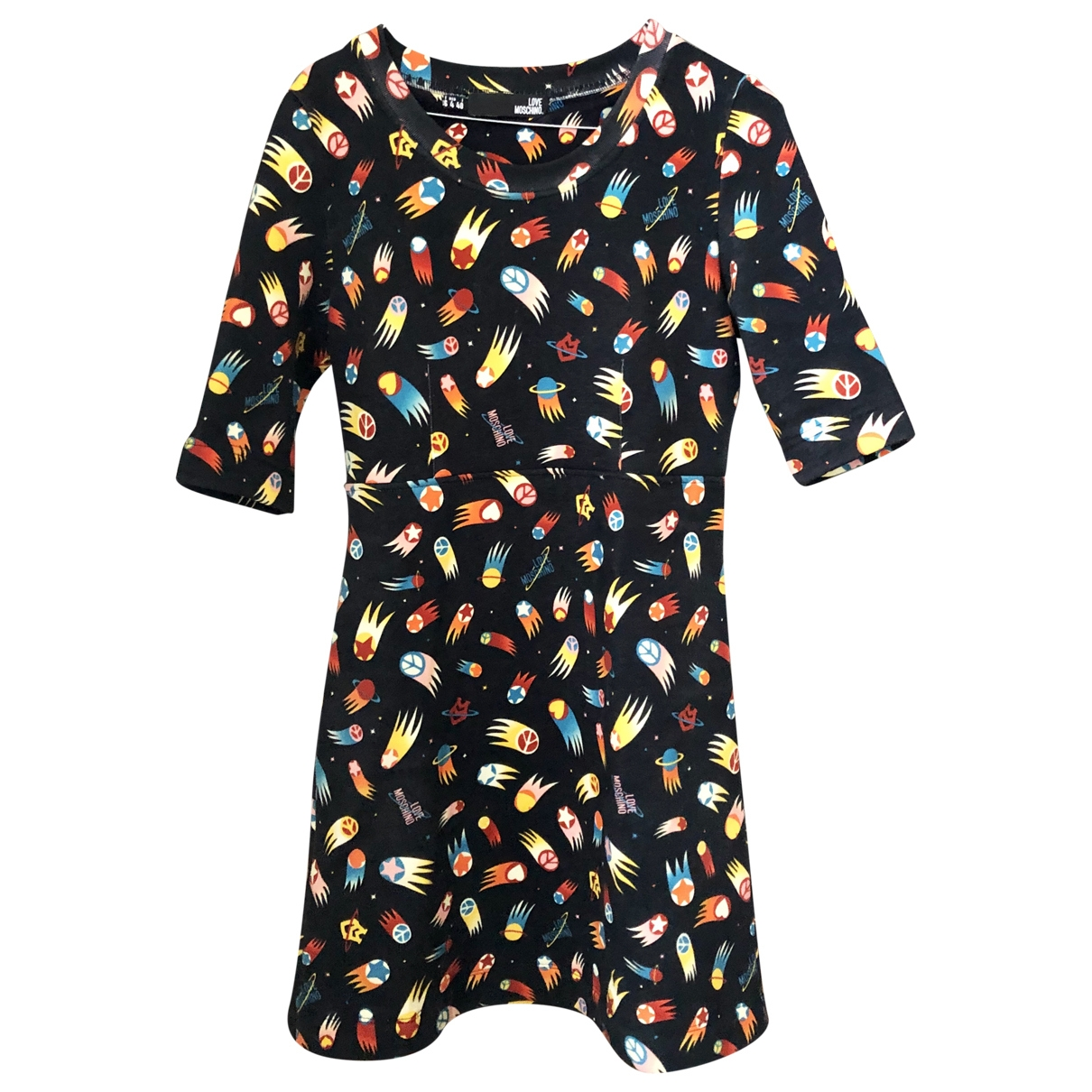 Moschino Love \N Anthracite Cotton dress for Women 40 IT