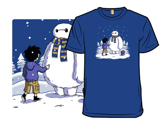 Big Snowman T Shirt