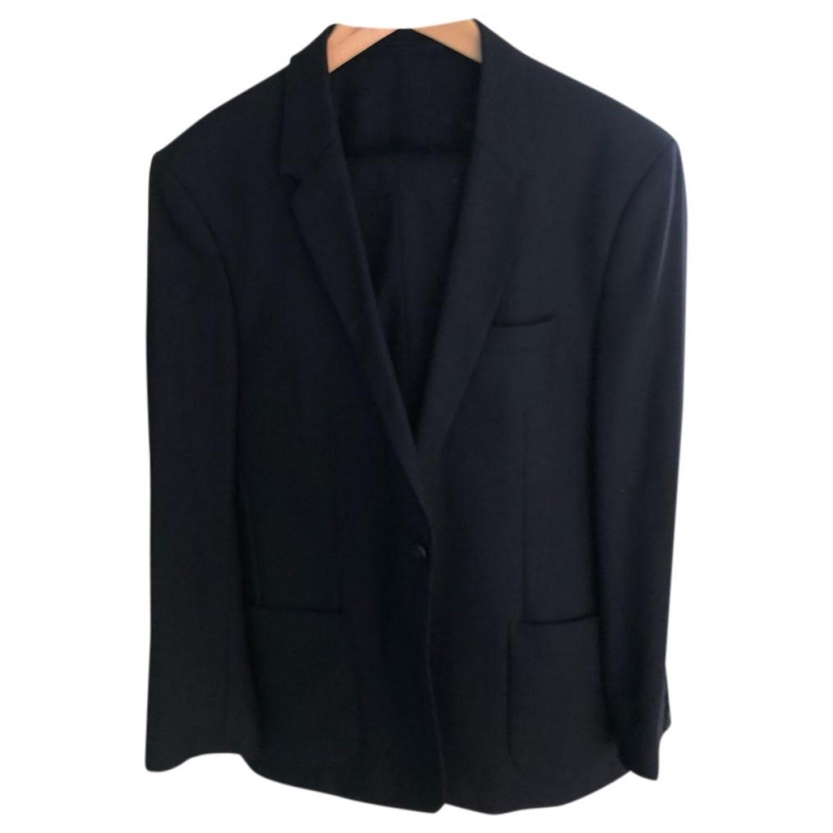 Cos \N Navy Wool Suits for Men 50 FR