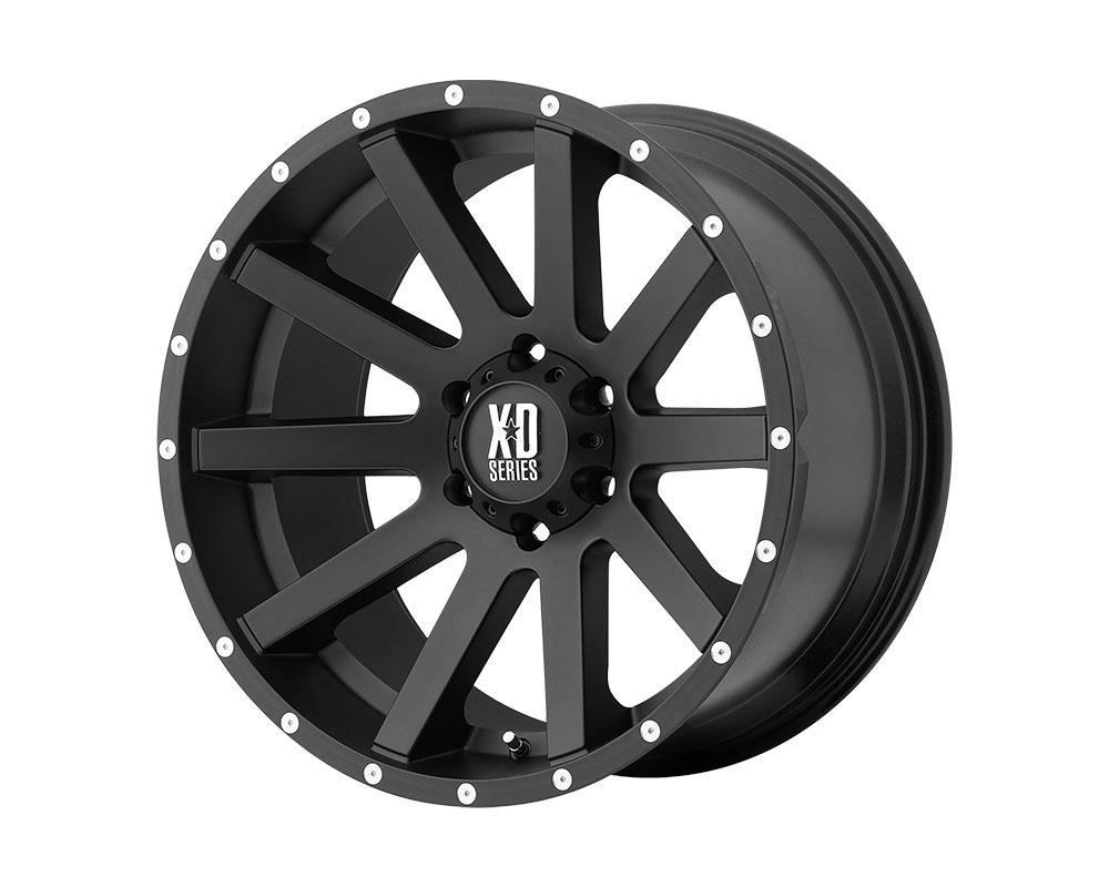 XD Series XD81822063712 XD818 Heist Wheel 22x10 6x6x135 +12mm Satin Black