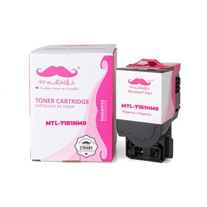 Lexmark 71B1HM0 Compatible Magenta Toner Cartridge High Yield - Moustache®