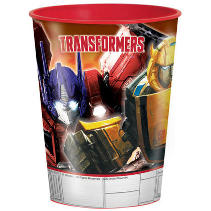 Transformers 1 16 oz. Plastic Cup For Birthday Party