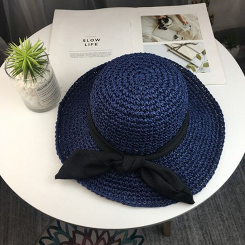 Ericdress Straw Straw Plaited Article Plain Summer Hat