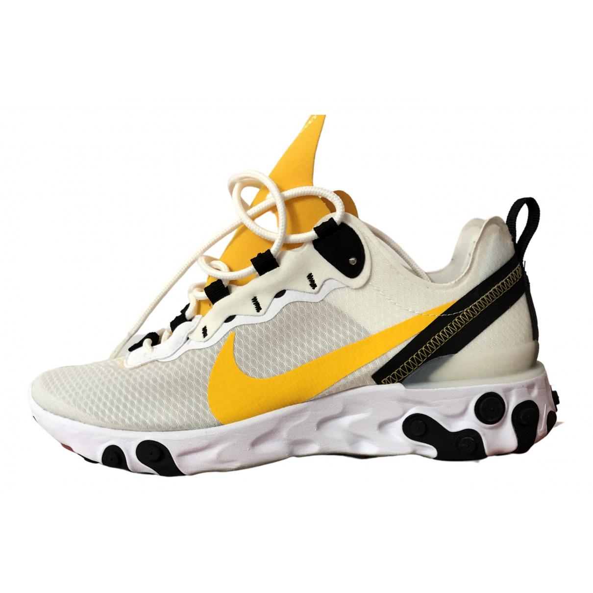 Nike \N Sneakers in  Weiss Polyester