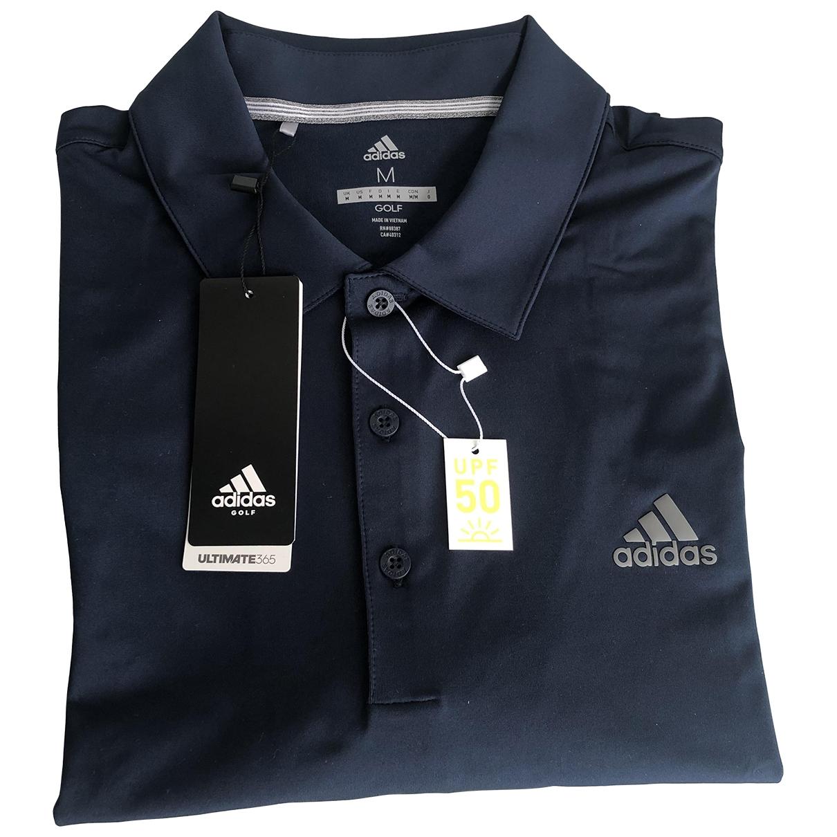 Adidas - Polos   pour homme - bleu